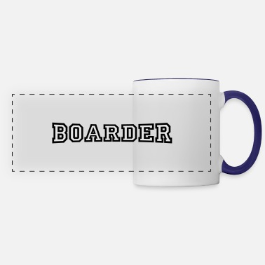 Boarders boarder - Panoramic Mug