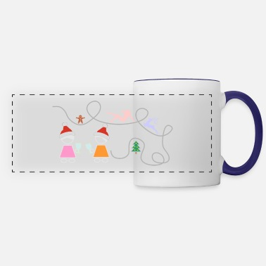 Greeting greeting - Panoramic Mug
