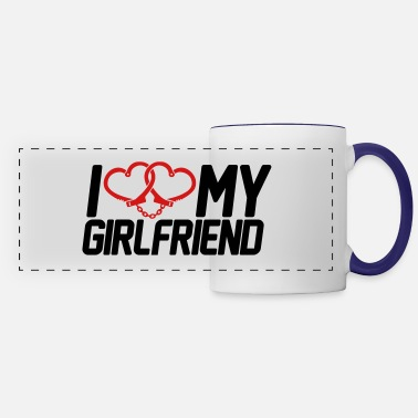 I Love My Girlfriend I Love my Girlfriend - Panoramic Mug