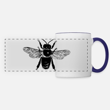 Quirk Flying Bee - Panoramic Mug