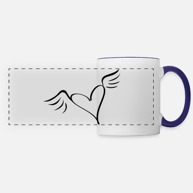 Serce wings - Panoramic Mug