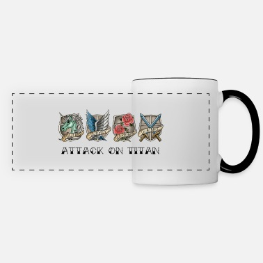 Attack On Titan attack on titan - Panoramic Mug