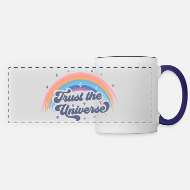 Spiritual Trust the Universe Spiritual Graphic Tee - Panoramic Mug