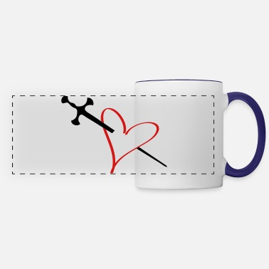 Serce heart - Panoramic Mug
