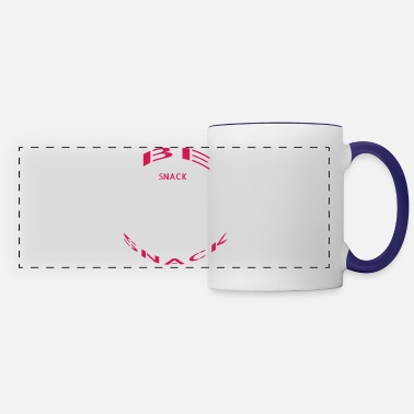 Snack be the snack or eat the snack - Panoramic Mug
