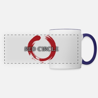 Russian Circles Red Circle - Panoramic Mug