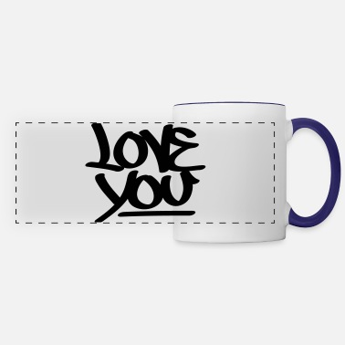 Love You Love You - Panoramic Mug
