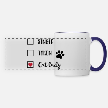 Offensive catlady - Panoramic Mug