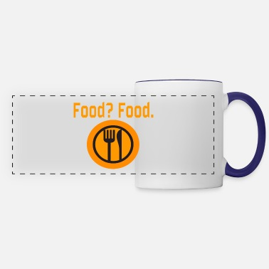 Food Food? Food. - Panoramic Mug