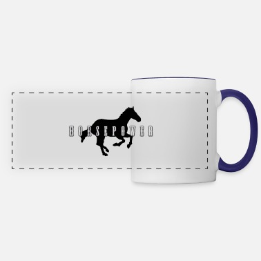 Horsepower horsepower - Panoramic Mug