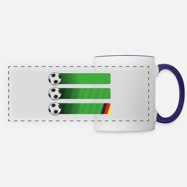 Soccer football - Panoramic Mug