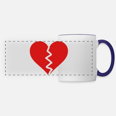 Broken Broken Heart - Panoramic Mug