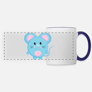 Mouse Funny Mouse - Panoramic Mug