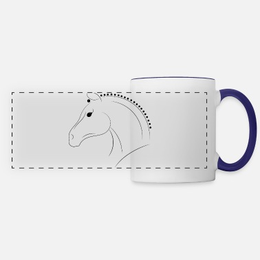 Equitation Competition Horse - Panoramic Mug