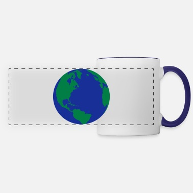 World The World - Panoramic Mug