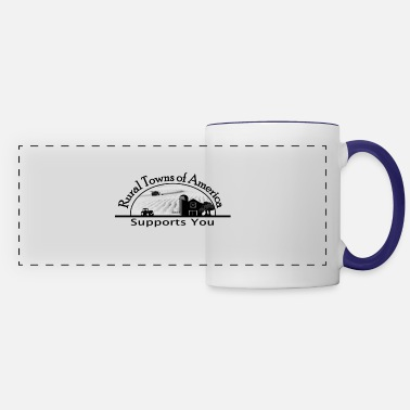Rural Support Rural Towns - Panoramic Mug