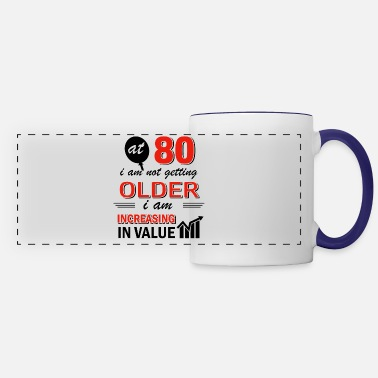 80 Years Old Funny 80 year old gifts - Panoramic Mug