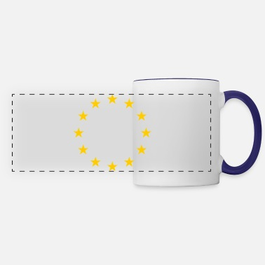 European Champion European Union Symbol - Panoramic Mug