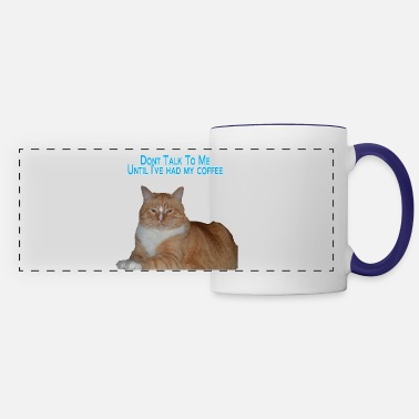 Grumpy In The Morning Grumpy Mornings - Panoramic Mug