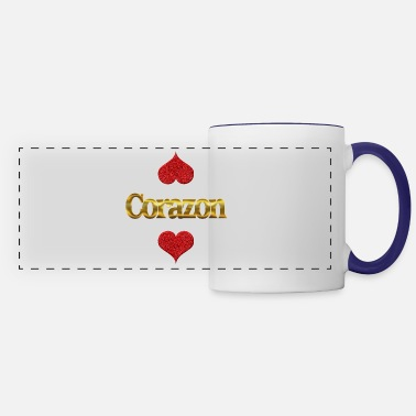 Corazon Corazon - Panoramic Mug