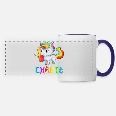 Chant Chante Unicorn - Panoramic Mug