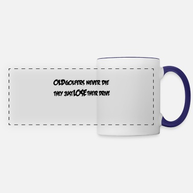 Funny Golf Golfing - Panoramic Mug
