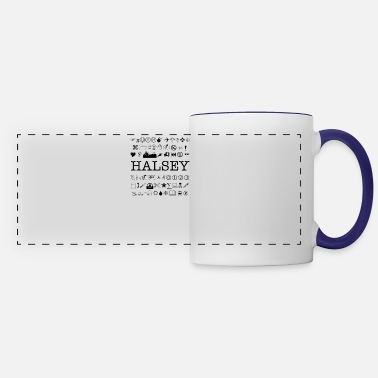 Fan Halsey Fans Art - Panoramic Mug