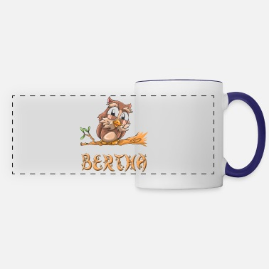 Bertha Bertha Owl - Panoramic Mug