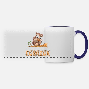 Corazon Corazon Owl - Panoramic Mug