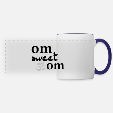 Om Om Sweet Om - Panoramic Mug