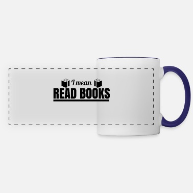 Halloween Reading Book READ BOOKS - Panoramic Mug