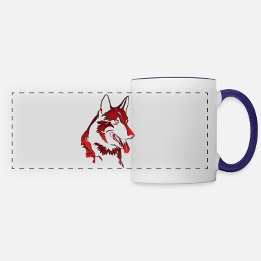 Blood Red Blood red Dog - Panoramic Mug