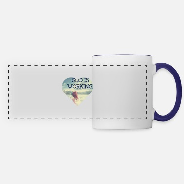 God God - Panoramic Mug