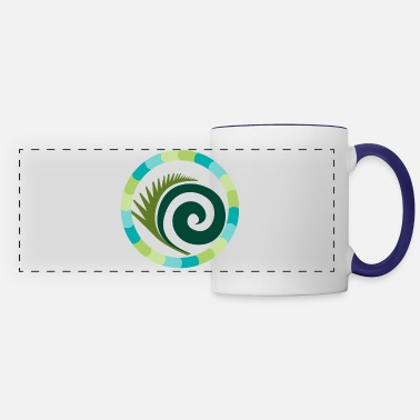 Skirt Rounded feather in circle - Panoramic Mug