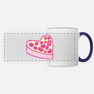 Promise Cute Heart - Panoramic Mug
