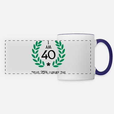 Number 50 - 40 plus tax - Panoramic Mug