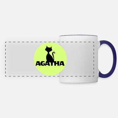Name Day Agatha Name First name Name Motif name day - Panoramic Mug