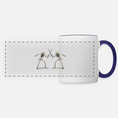 Sword Fight Sword fighting skeletons - Panoramic Mug