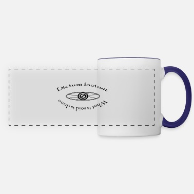Factum What is said is done - Panoramic Mug