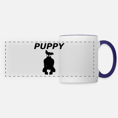Sms The shadow of a cute puppy - Panoramic Mug