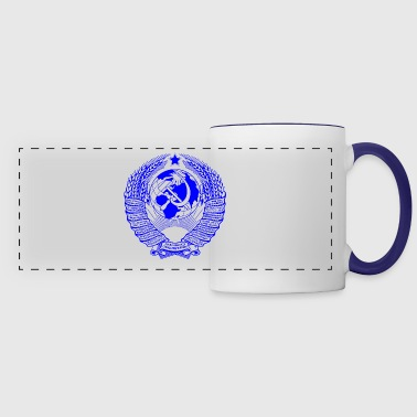 Communist Original State Emblem of the USSR - Panoramic Mug