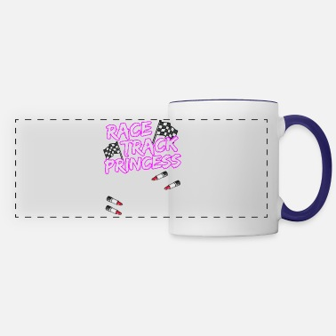 Race Car Driver RACE TRACK PRINCESS Racing Race Car Driver Gift - Panoramic Mug