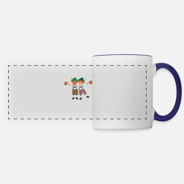 Funny Oktoberfest Inspired Design for German Oktoberfest - Panoramic Mug