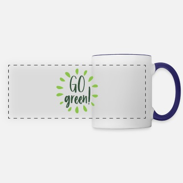 Enviromental Go green! Enviromental design - Panoramic Mug