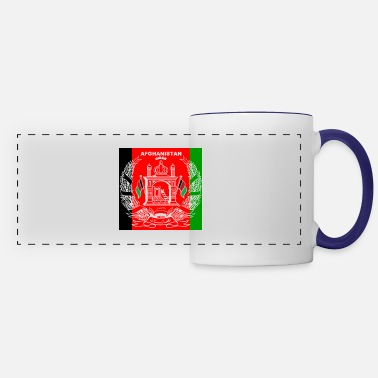 Mobile Afghan Logo-Flag Colors - Panoramic Mug