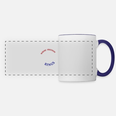 Bell Freedom Rings - Color - Panoramic Mug