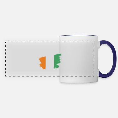 Flag Ivory Coast Africa Gift Idea - Panoramic Mug