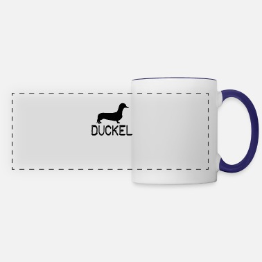 Duckel - Dachshund feat. Duck Pun - Panoramic Mug