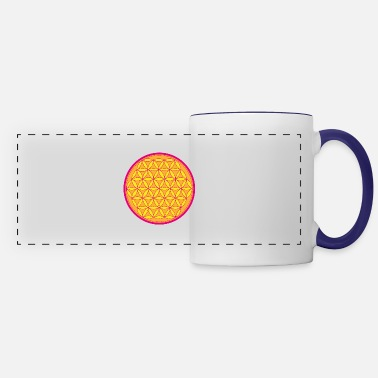 Life Flower flower of Life - Panoramic Mug