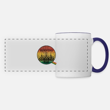 Ragga burning raggae - Panoramic Mug